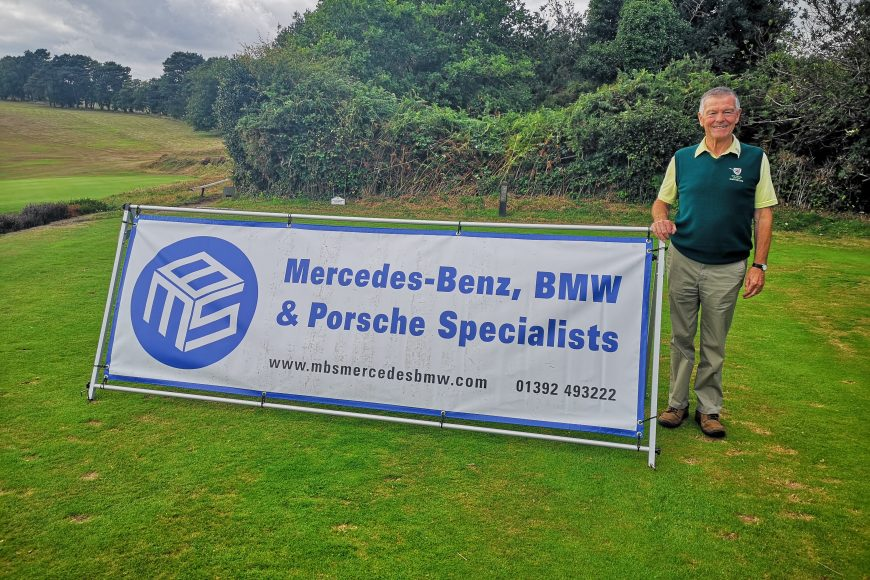 MBS Hole Sponsors of East Devon Golf Club Captain's Day