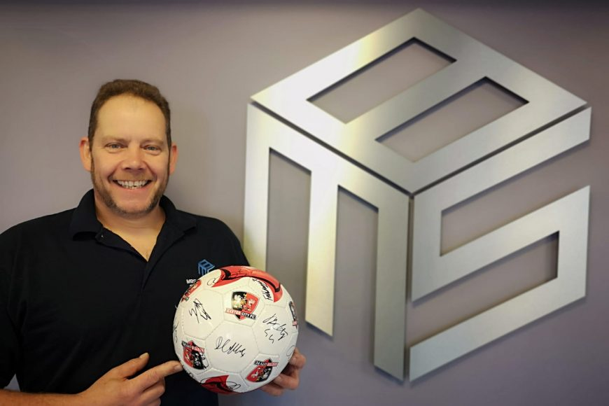 Signed Exeter City Football Club ball giveaway!